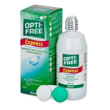Opti-Free – Express Everyday Comfort Υγρό Φακών Επαφής για Καθημερινή Άνεση 355ml