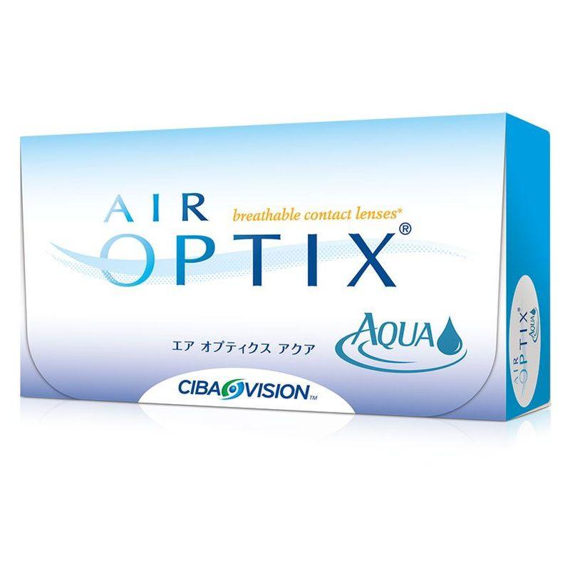 AIR OPTIX AQUA ΜΗΝΙΑΙΟΙ ΦΑΚΟΙ ΕΠΑΦΗΣ (6 ΦΑΚΟΙ)
