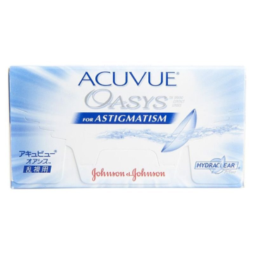 ACUVUE OASYS FOR ASTIGMATISM ΔΕΚΑΠΕΝΘΗΜΕΡΟΙ ΦΑΚΟΙ ΕΠΑΦΗΣ ΑΣΤΙΓΜΑΤΙΣΜΟΥ (6 ΦΑΚΟΙ)